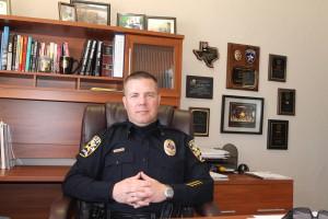 Bartonville Police Chief Corry Blount