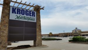Kroger Marketplace at Lantana Town Center in Bartonville.