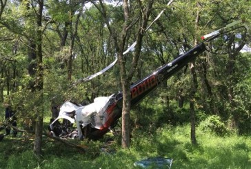 Helicopter crash in Denton County (photos)