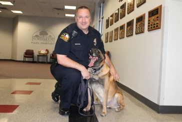 Bullitt the K-9 retires from duty