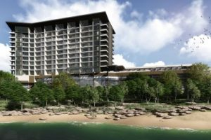 Rendering of The Pearl on the Peninsula hotel in Flower Mound.