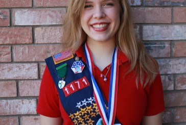 Highland Village girl earns Stars & Stripes award