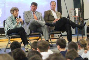 Liberty students learn from Holocaust survivor
