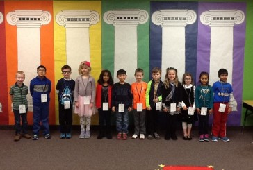 Bluebonnet Elementary students earn badges for good choices
