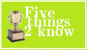 5 things trophy