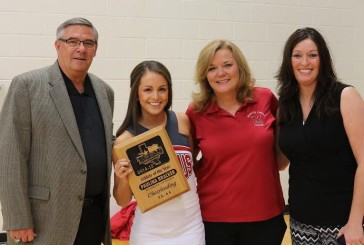 MHS cheerleader takes top state award