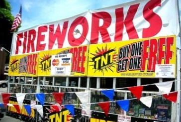 Fireworks not allowed in most local towns