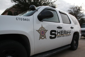 Denton County Sheriff SUV