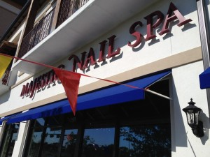 Majestic Nail Spa's new location at Lakeside DFW in Flower Mound offers a  unique pampering experience.