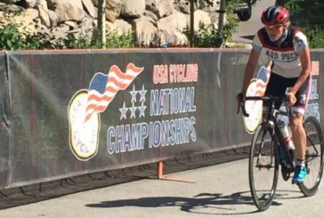Flower Mound cyclist finishes strong in national race
