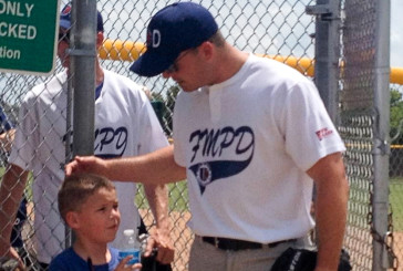 Flower Mound police beat fire in softball game