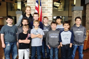 Students prepare for area math competition