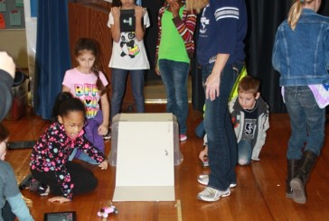 Start Your Engine: Third graders test force, motion at Donald Derby