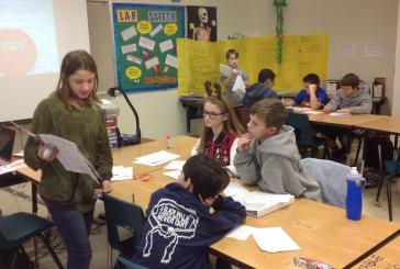 McKamy students create stellar space stories