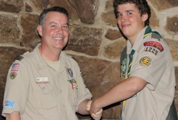 McKamy Middle student earns Eagle Scout rank