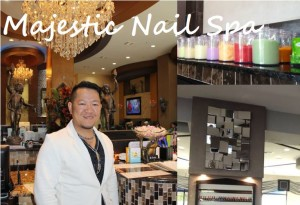 Henry Nguyen, co-owner of the new Majestic Nail Spa in Flower Mound, stands in one of his stores.