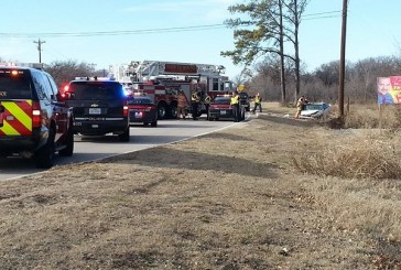 Driver who flipped car on FM 2499 being treated for medical condition