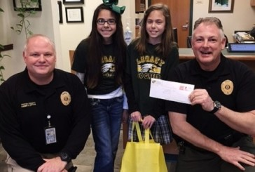 Sheriff surprises student who sends letter