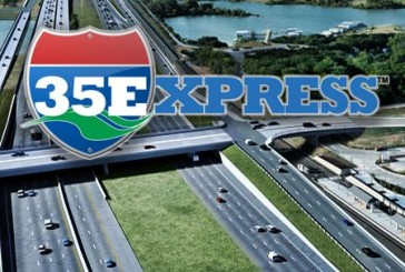 Lane closure on eastbound FM 3040 near I-35E