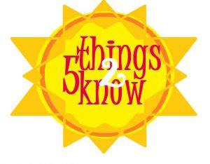 5 things 16