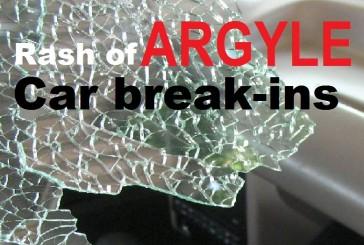 Spate of vehicle break-ins hits Argyle