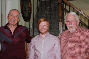 Columnist Bob Weir, Patrick Malany and Richard Witkovski talk about the possibility of a radio station for Denton County (Photo: Netsky Rodriguez).