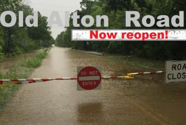 Denton County reopens flooded part of Old Alton Road