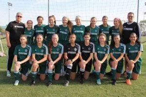 The D'Feeters Soccer Club, U17 team (Photo Courtesy: D'Feeters.com).