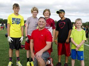 Flower Mound Christian Football Association President Greg Novarro believes safety is the key to a winning team. (Photo by Bill Castleman)