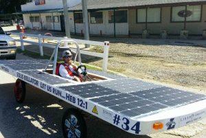 Liberty Christian School 's Solar Car.
