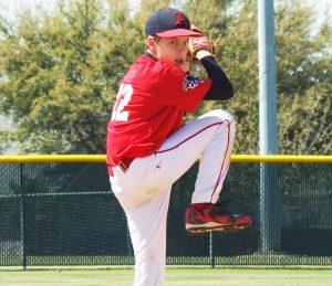 Pro Source Athletics pitcher Ryan Hulke.