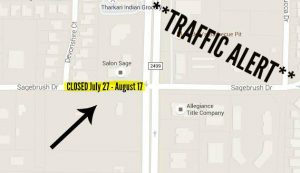 Sagebrush and Devonshire closure