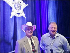 Denton County Sheriff Will Travis was recently recognized for his efforts to keep drugs off the streets of Texas (Photo Courtesy: DCSO).