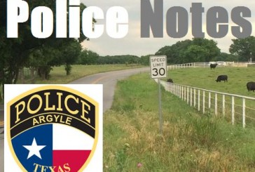 Police notes: Argyle Police Department