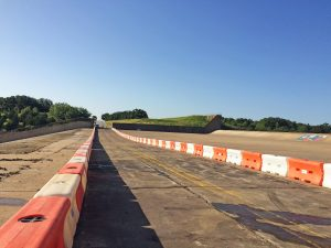 Fairway Drive as of July 15 (Photo Courtesy: Town of Flower Mound).