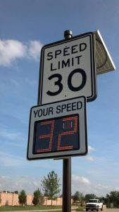 Lantana officials recently approved the purchase of new radar speed feedback signs.