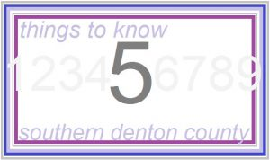 5 things number line