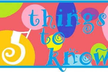 Five things to know: August 3