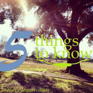 5 things to know 30