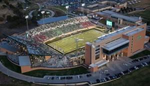 Apogee Stadium in Denton.