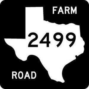FM 2499 sign