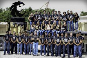2015 Guyer High School football team