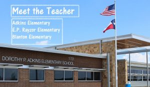 Denton ISD is hosting Meet the Teacher evenings this week at some area elementary schools (Photo Courtesy: DISD).