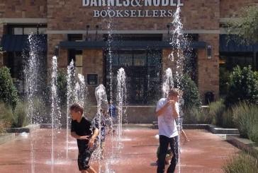 Splashing the heat away in Highland Village