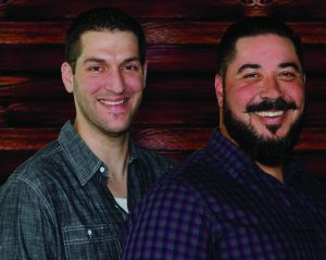 Bruce Wills (right) and Ray Skradvinski are bringing new flavors to Flower Mound with The Table, one of three new restaurants coming to Highlands Plaza (Photo Credit: Bill Castleman).
