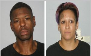 Lamar Benton and Jessica Cuevas (Photos Courtesy: Flower Mound Police Department)