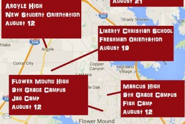Area school orientations this week, next week