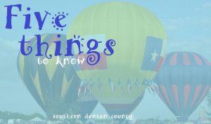 Five things 21
