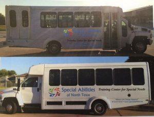 Special Abiliities of North Texas stolen van 2015
