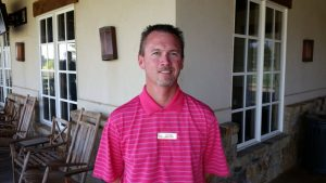 Jim Sanders, General Manager,  Lantana Golf Club.